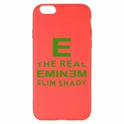 Чехол для iPhone 6 Plus/6S Plus The Real Slim Shady - FatLine