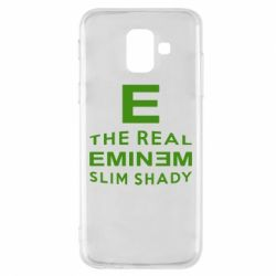 Чехол для Samsung A6 2018 The Real Slim Shady - FatLine