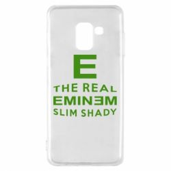 Чехол для Samsung A8 2018 The Real Slim Shady - FatLine