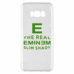 Чехол для Samsung S8 The Real Slim Shady - FatLine