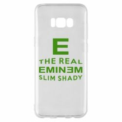 Чехол для Samsung S8+ The Real Slim Shady - FatLine