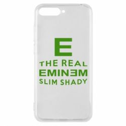 Чехол для Huawei Y6 2018 The Real Slim Shady - FatLine