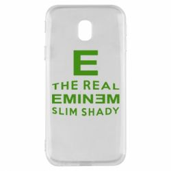 Чехол для Samsung J3 2017 The Real Slim Shady - FatLine