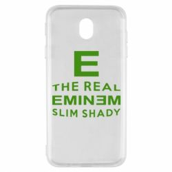 Чехол для Samsung J7 2017 The Real Slim Shady - FatLine