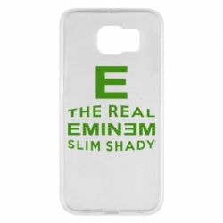 Чехол для Samsung S6 The Real Slim Shady - FatLine