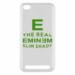 Чехол для Xiaomi Redmi 5a The Real Slim Shady - FatLine