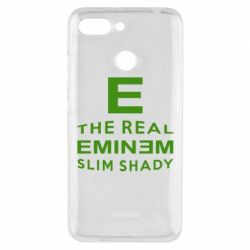 Чехол для Xiaomi Redmi 6 The Real Slim Shady - FatLine