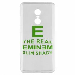 Чехол для Xiaomi Redmi Note 4x The Real Slim Shady - FatLine