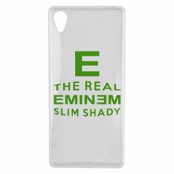 Чехол для Sony Xperia X The Real Slim Shady - FatLine