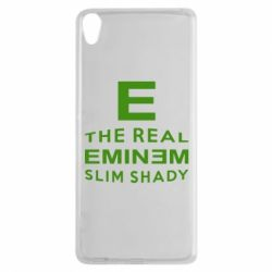 Чехол для Sony Xperia XA The Real Slim Shady - FatLine