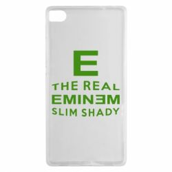 Чехол для Huawei P8 The Real Slim Shady - FatLine