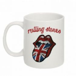 Купить Кружка 320ml The Rolling Stones British flag, FatLine