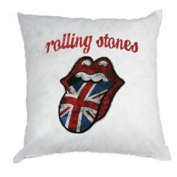 Подушка The Rolling Stones British flag