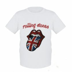 Детская футболка The Rolling Stones British flag