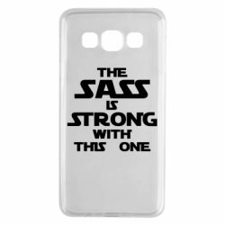 Чохол для Samsung A3 2015 The sass is strong with this one