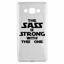 Чохол для Samsung A5 2015 The sass is strong with this one