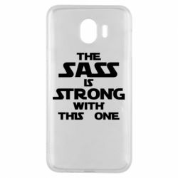 Чохол для Samsung J4 The sass is strong with this one