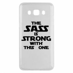 Чохол для Samsung J5 2016 The sass is strong with this one