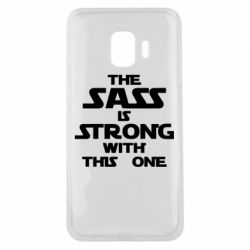 Чохол для Samsung J2 Core The sass is strong with this one