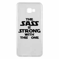 Чохол для Samsung J4 Plus 2018 The sass is strong with this one