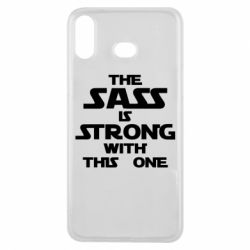 Чохол для Samsung A6s The sass is strong with this one