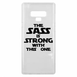 Чохол для Samsung Note 9 The sass is strong with this one