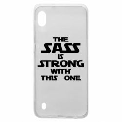 Чохол для Samsung A10 The sass is strong with this one