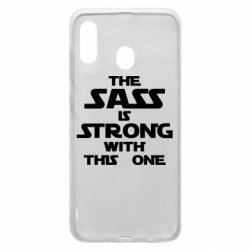 Чохол для Samsung A30 The sass is strong with this one