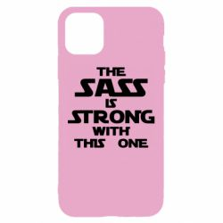 Чохол для iPhone 11 The sass is strong with this one