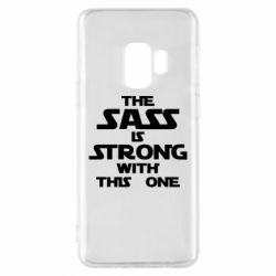 Чохол для Samsung S9 The sass is strong with this one