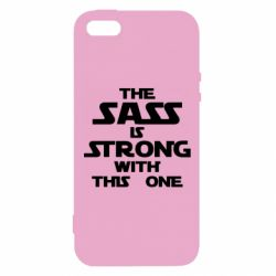 Чохол для iphone 5/5S/SE The sass is strong with this one
