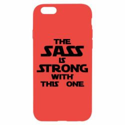 Чохол для iPhone 6/6S The sass is strong with this one