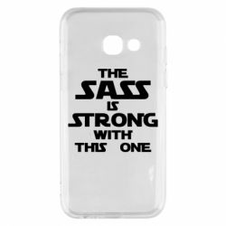 Чохол для Samsung A3 2017 The sass is strong with this one