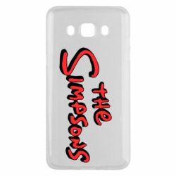 Чохол для Samsung J5 2016 The Simpson Logo