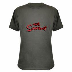 Камуфляжна футболка The Simpson Logo