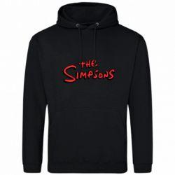 Чоловіча толстовка The Simpson Logo