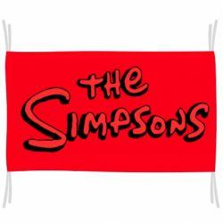 Прапор The Simpson Logo