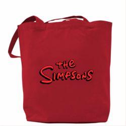 Сумка The Simpson Logo