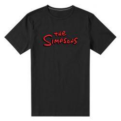 Чоловіча стрейчева футболка The Simpson Logo