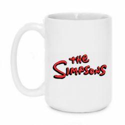 Кружка 420ml The Simpson Logo