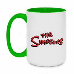 Кружка двоколірна 420ml The Simpson Logo
