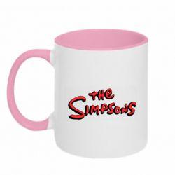 Кружка двоколірна 320ml The Simpson Logo