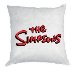 Подушка The Simpson Logo