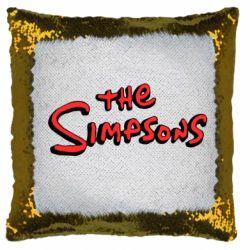 Подушка-хамелеон The Simpson Logo
