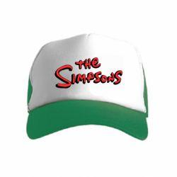 Дитяча кепка-тракер The Simpson Logo