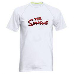Чоловіча спортивна футболка The Simpson Logo