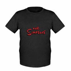 Дитяча футболка The Simpson Logo