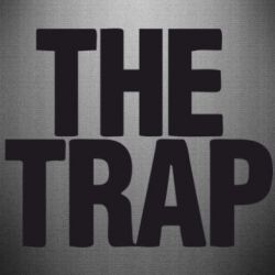 Наклейка The Trap Logo