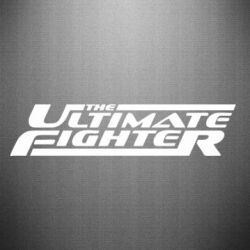 Наклейка The Ultimate Fighter - FatLine