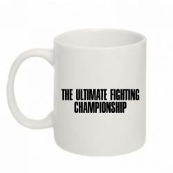 Кружка 320ml The Ultimate Fighting Championship